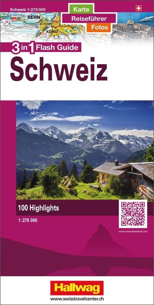 Schweiz Flash Guide 1:275 000 d/f/e