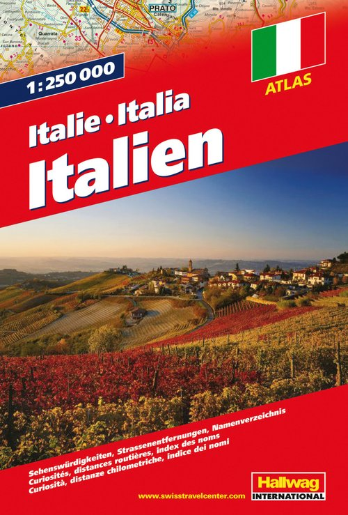 Italie Atlas routier 1:250 000