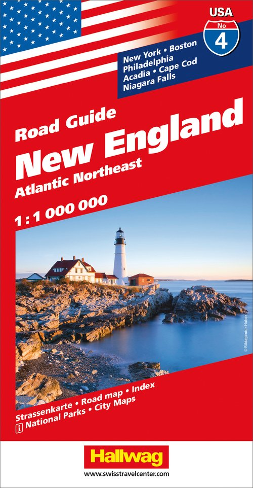 USA/4 New England Road Guide