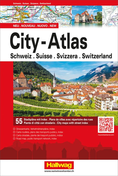 Switzerland City-Atlas
