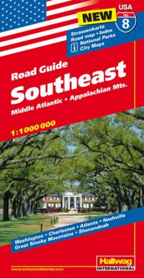 USA/8 Southeast Road Guide