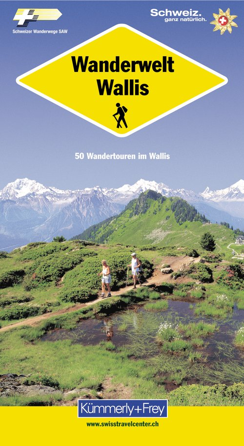 Wanderwelt Wallis (German edition)