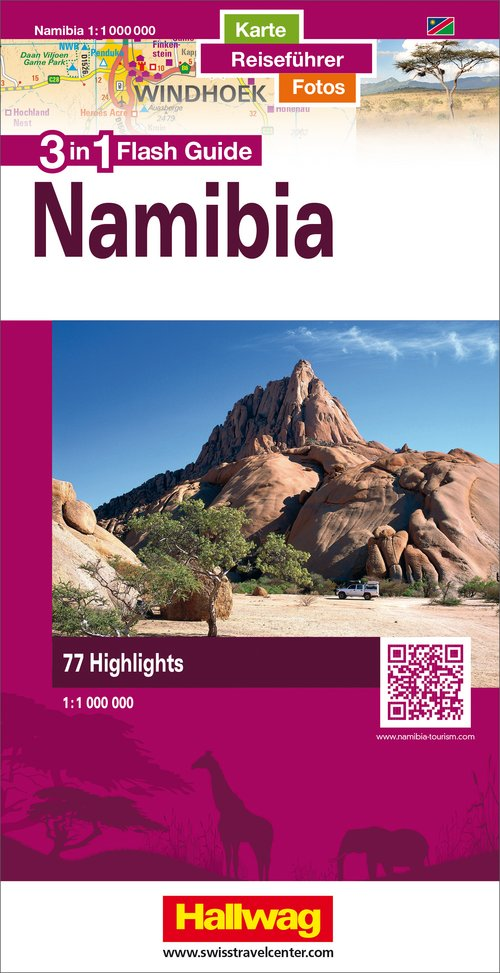 Namibie Flash Guide 1:1 mio.  d/e