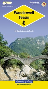 Wanderwelt Tessin (Germand edtion)