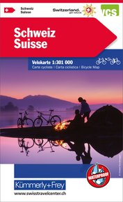 Suisse sans Free Map on Smartphone