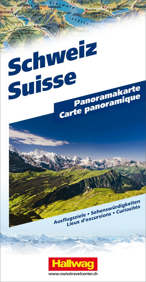 Switzerland Panoramic map