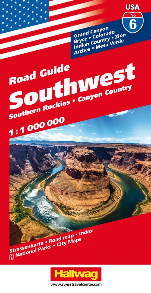 USA/6 Southwest Road Guide