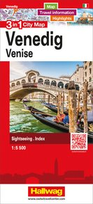 Venedig 3 in 1 City Map 1:5 500