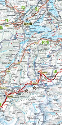 Long-distance hikes in Switzerland