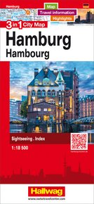 Hamburg 3 in 1 City Map 1:18 500