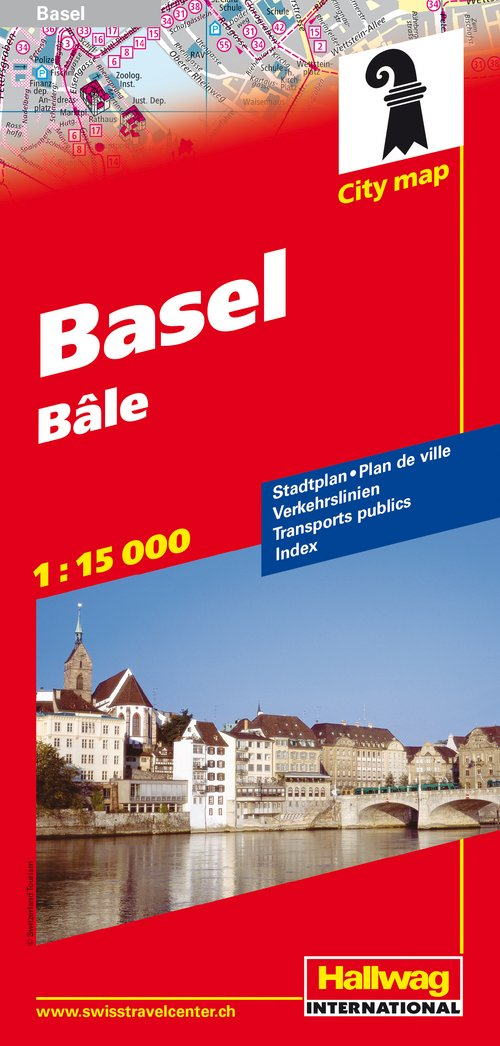 Basel City map
