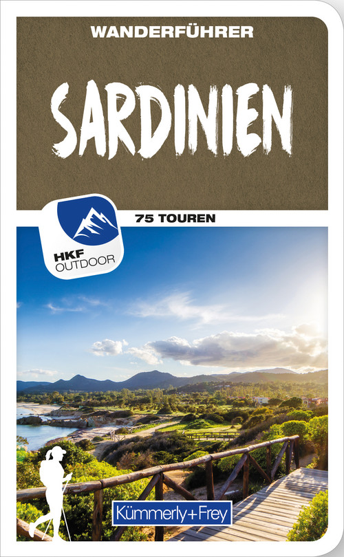 Sardinien Wanderführer, german edition