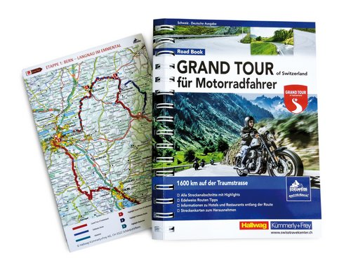 Grand Tour of Switzerland für Motorradfahrer / German edition