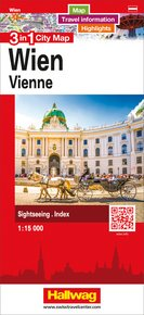 Wien 3 in 1 City Map 1:15 000