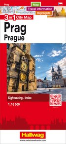 Prag 3 in 1 City Map 1:16 500
