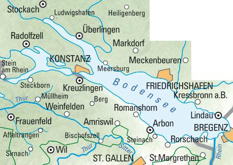 Bodensee Schweiz Karte Goudenelftal